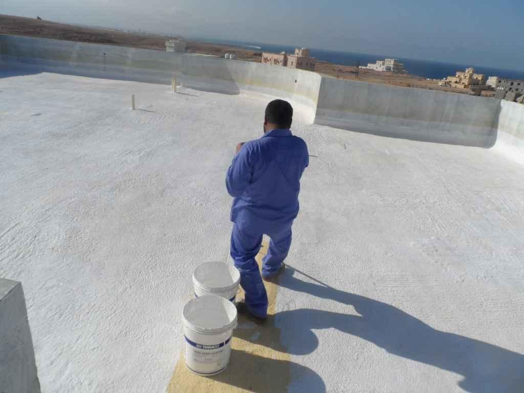 شركة عزل أسطح مائي حراري فوم شينكو بأحد رفيدة